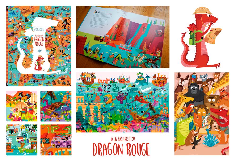 A la recherche du dragon rouge