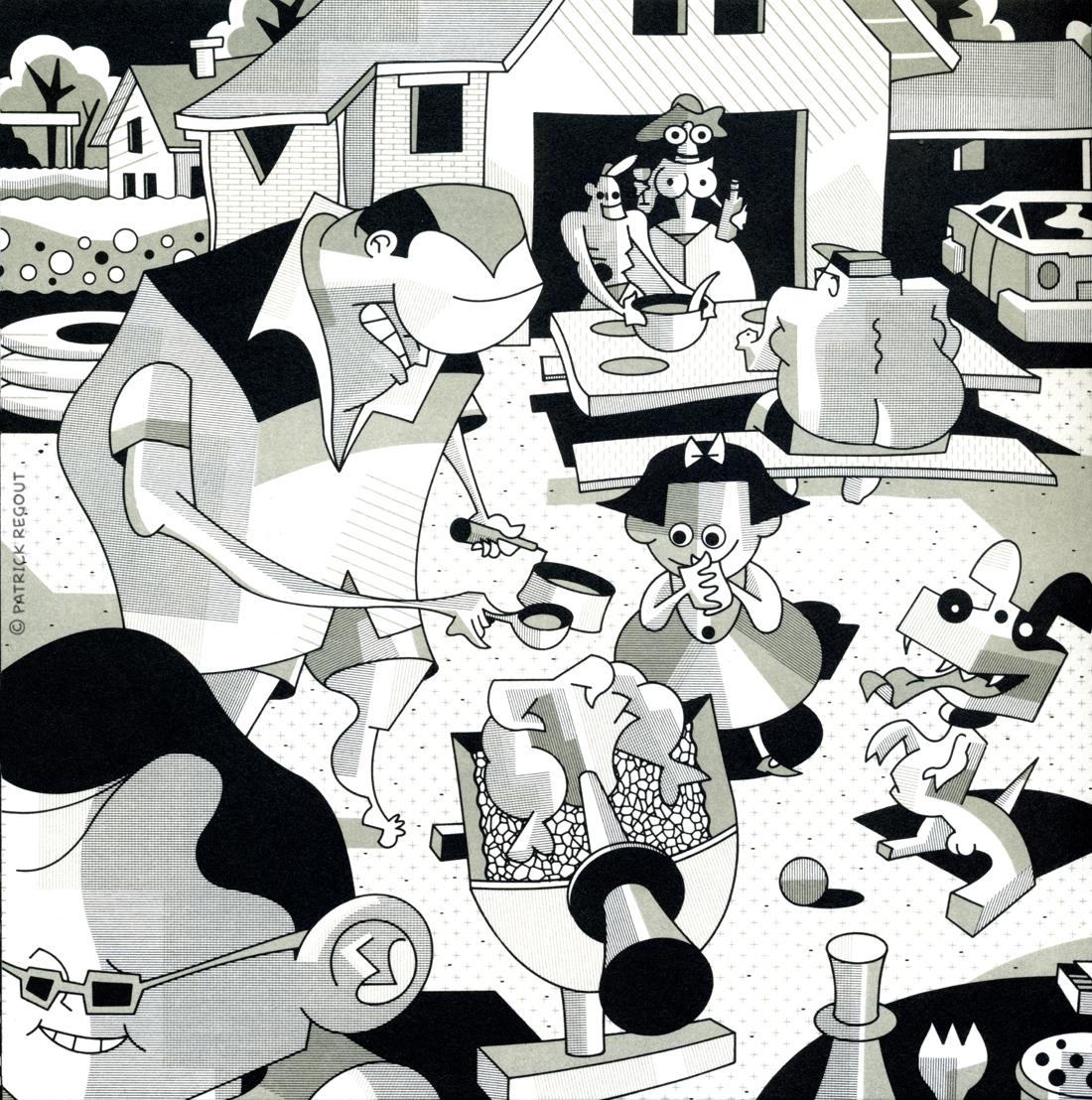 illustration Patrick Regout