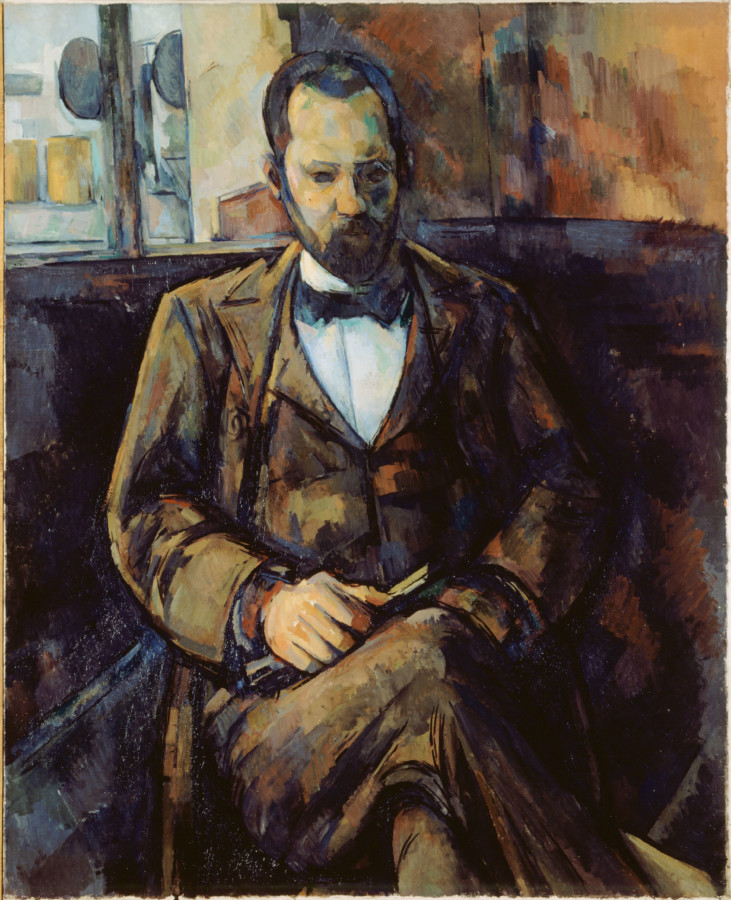 """Paul Cézanne. """"Ambroise Vollard"""", 1899. Musée des Beaux-Arts de la Ville de Paris, Petit Palais."""