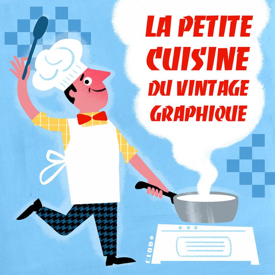 la petite cuisine du vintage graphique