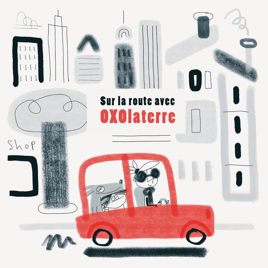 Sur la route avec OXOlaterre